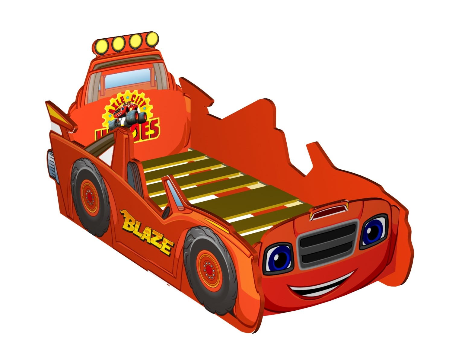 Picture of: Blaze The Monster Machines Monster Truck Junior Bed The Style Products Company
